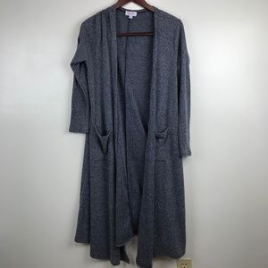 LuLaRoe Sarah Cardigan Duster Long Ribbed Sweater